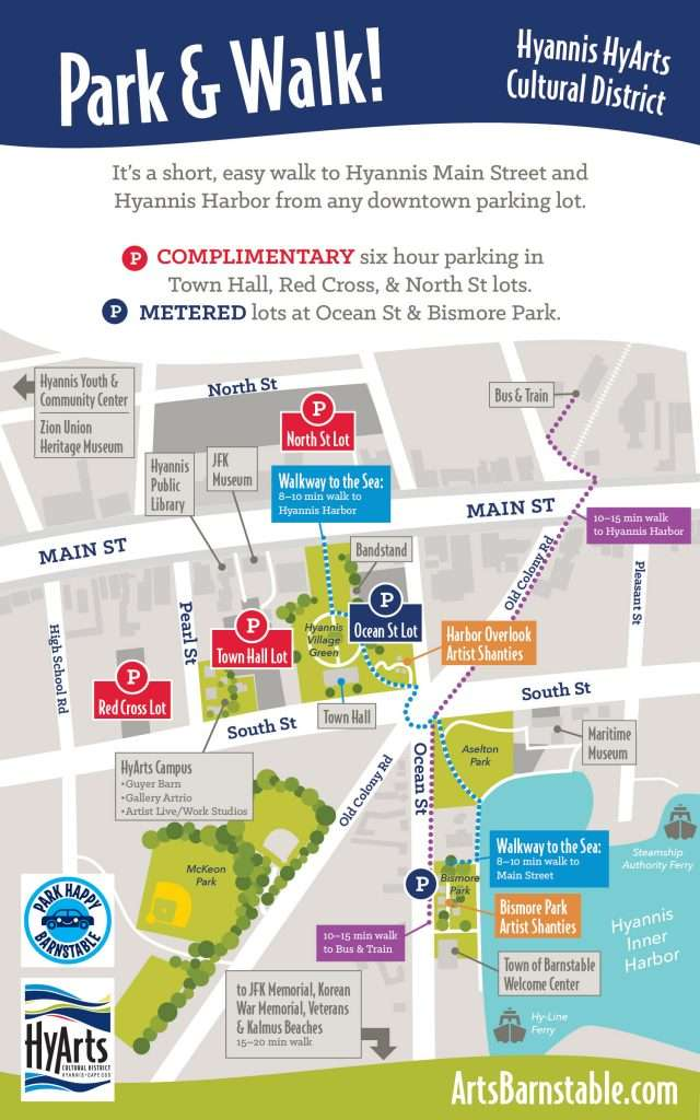 visual map of parking locations, see listing above